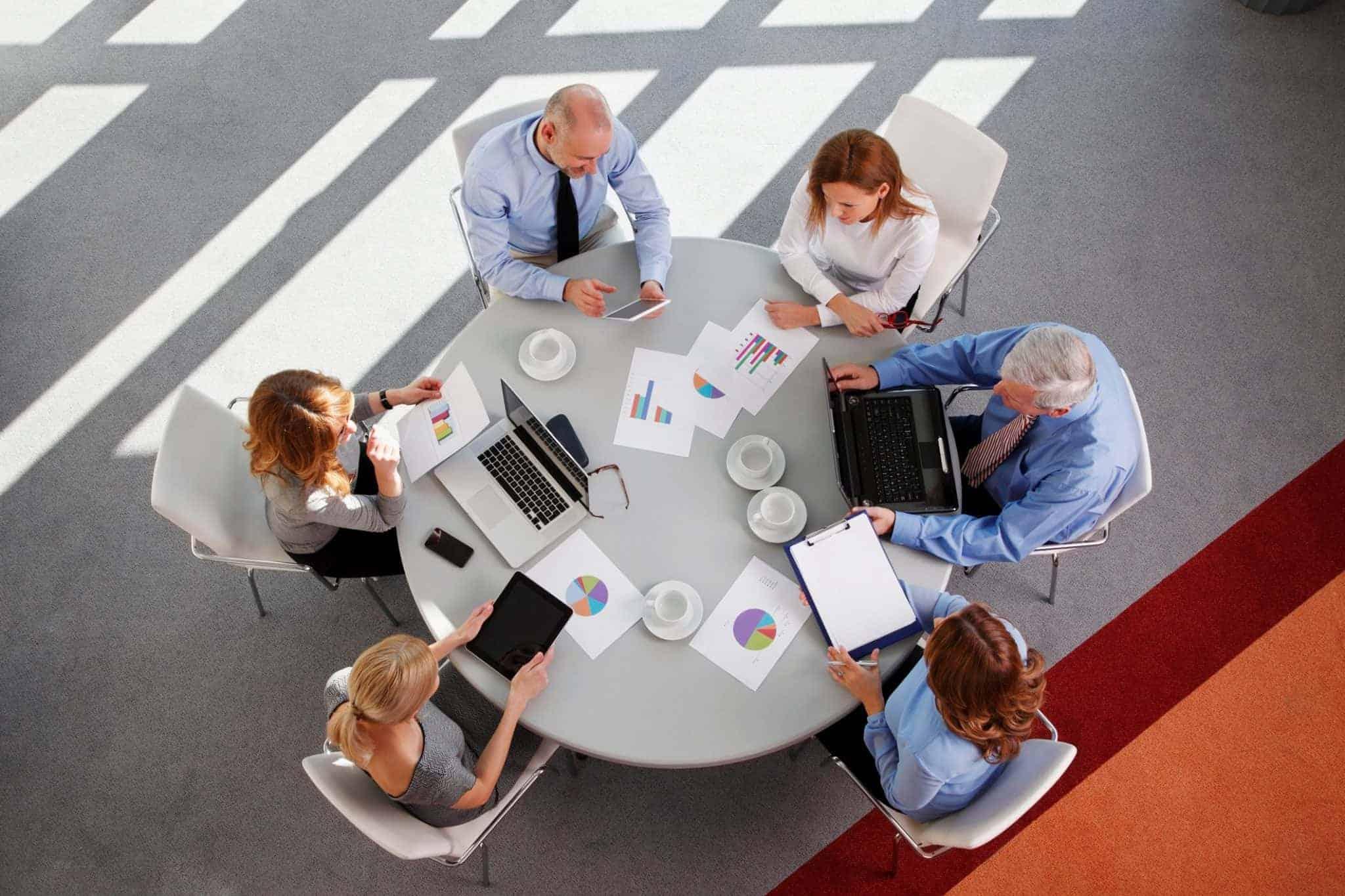 Como escolher um local para sua rodada de negócios?