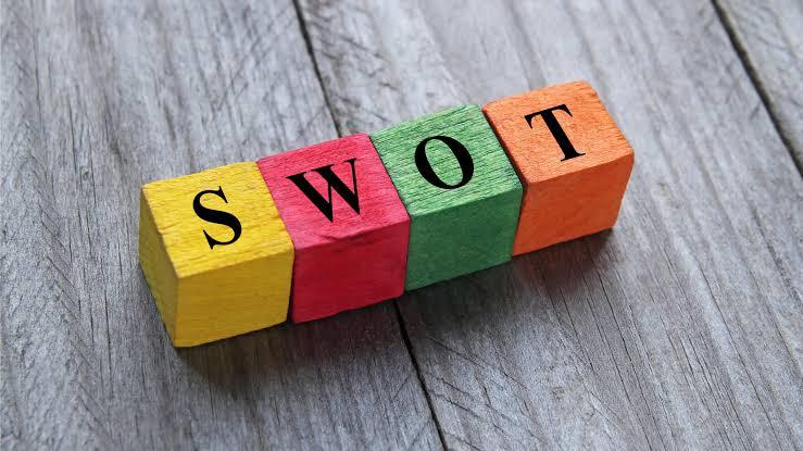 Análise SWOT antes de um encontro de negócios